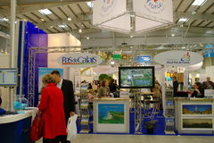 Pas-de-Calais Tourisme exhibition Royalty Free Stock Photo