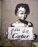 Pas De Cartier Fotografia Stock