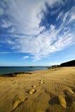 pas en littoral et été de Lanzarote Espagne photo libre de droits