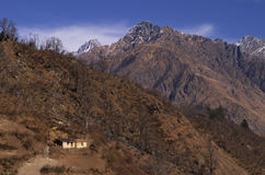 Pas landschap-Xxiv van de winterkuari Royalty-vrije Stock Fotografie