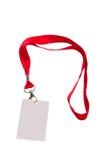 Pas met rode riem Royalty-vrije Stock Afbeeldingen