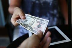 Pas 50 rekeningen Dolor Royalty-vrije Stock Afbeelding