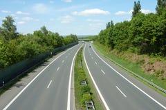 Pas ruchu autostrada Zdjęcie Royalty Free