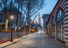 Pas ruchu prowadzi Hagia Sophia Obraz Royalty Free