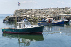 Pas ruchu zatoczka - Rockport, MA Obrazy Royalty Free