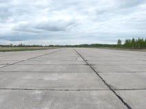 Pas startowy dla samolotów Fotografia Royalty Free