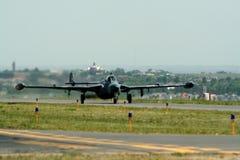 pas startowy samolotu wojownika. Zdjęcie Royalty Free
