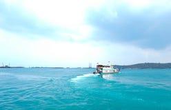 Pasażer łódź zdjęcia royalty free
