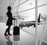 Pasażer, biały Obraz Stock