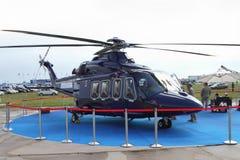 Pasażerski śmigłowcowy AgustaWestland AW139 przy zawody międzynarodowi A Obraz Stock