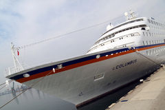 pasażerski C statek Columbus Fotografia Stock