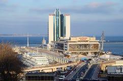 pasażerski port morski międzynarodowa ważność, Odessa, Ukraina Zdjęcie Stock