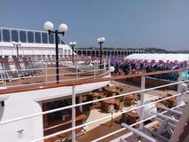 pasażerski statek, statek wycieczkowy, wodny transport, statek, pojazd, watercraft, pokład zdjęcia stock