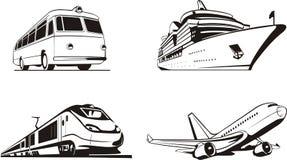 pasażerski transport Zdjęcie Stock