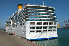 Pasażerskiego statku stern obraz royalty free