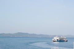 Pasażerskiej łodzi prom Obraz Stock