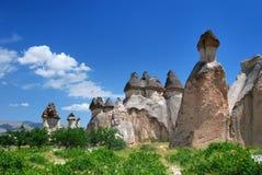 Pasa Baglari in Cappadocia stock photography