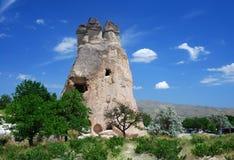 Pasa Baglari Park (Turkey). Pasabaglari (Pasabag Valley) is located near Goreme. High fairy chimneys, some multi-coned, attract many tourists stock photos