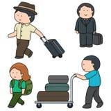 pasażer ilustracja wektor