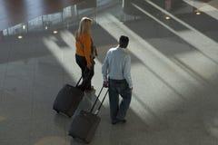 pasażerowie lotniskowych Obraz Royalty Free