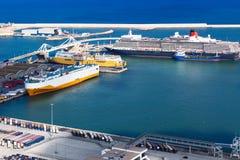 Pasażerscy statki i promy Zdjęcie Royalty Free