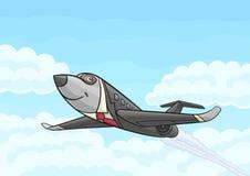 Pasażerski biznesowy samolot Zdjęcie Royalty Free