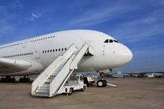 Pasażerski samolot Obrazy Stock