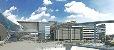 pasażerski terminal Obrazy Royalty Free