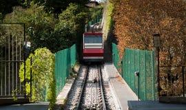 Pasażerski tramwaj w Bergamo Fotografia Stock