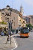 Pasażerski trasa autobus w Padova Zdjęcie Royalty Free