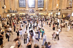 Pasażery w Uroczystej centrali Fotografia Stock