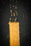 Pasa ruchu Blacktop zdjęcia royalty free