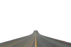 Pasa ruchu blacktop odizolowywający zdjęcie stock
