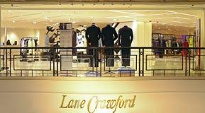 Pasa ruchu Crawford kwadrat czasami, Hong kong Obraz Royalty Free