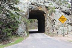 pasa ruchu tunel jeden Fotografia Royalty Free