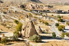 Pasabag felika lampglas i Cappadocia kalkon Arkivbilder