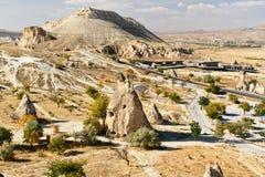 Pasabag felika lampglas i Cappadocia kalkon Arkivbild