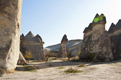 Pasabag. The Pasabag (Monks Valley) with Fairy Chimney rock formations in Cappadocia at sunny autumn day Stock Images