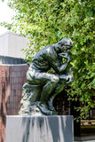The Thinker of Auguste Rodin in the Norton Simon Museum Royalty Free Stock Photos