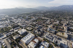 Pasadena California Aerial View. Aerial view of Pasadena in Los Angeles County, California Stock Image