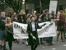 Pasadena, California - 20 novembre 2016: Doo Dah Parade Fotografia Stock Libera da Diritti