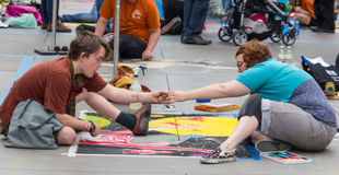 Pasadena Chalk Festival Royalty Free Stock Photography