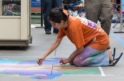 Pasadena Chalk Festival Royalty Free Stock Images
