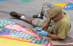 Pasadena Chalk Festival Stock Photography