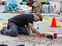 Pasadena Chalk Festival Royalty Free Stock Image