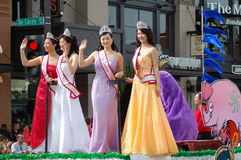 PASADENA Chinese Lunar New Year Parade Royalty Free Stock Photography