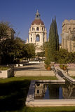 Pasadena City Hall. This is a picture of the Pasadena City Hall and its reflection Royalty Free Stock Image