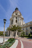 Pasadena City Hall Entrance. PASADENA, USA - MAY 2015 Pasadena City Hall in Los Angeles County Royalty Free Stock Images