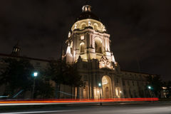 Pasadena City Hall in Mediterranean Revival and Spanish Colonial Stock Photo