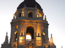 Pasadena City Hall. Tower picture taken at 6:00am Royalty Free Stock Photography